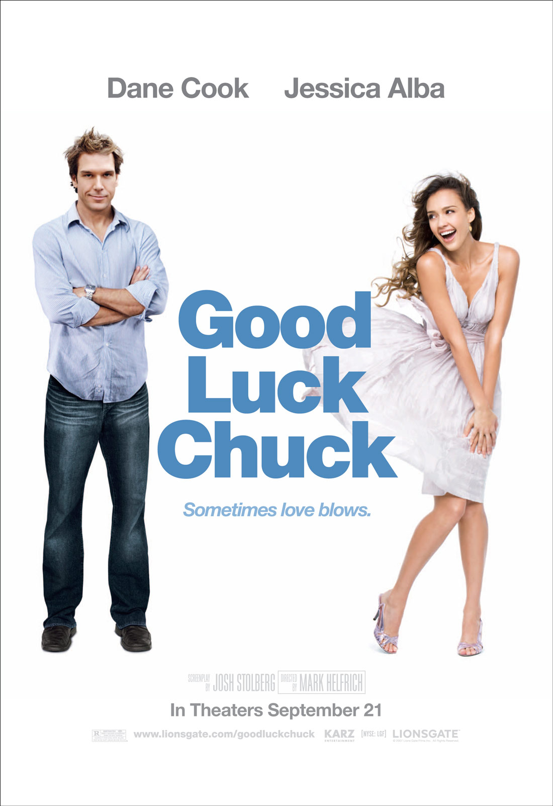 Удачи, Чак! / Good Luck Chuck [UNRATED] (2007) BDRip + DVD9 + BDRip 720p + BDRip 1080p